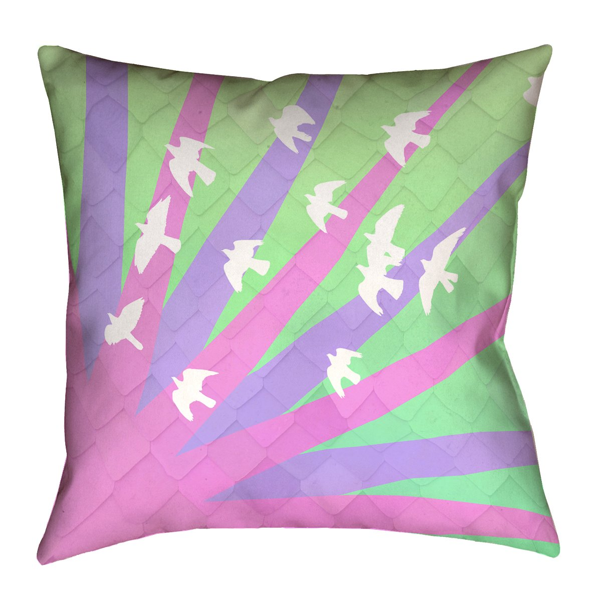 Updated Fabric ArtVerse Katelyn Smith Illinois 20 x 20 Pillow-Faux Linen Double Sided Print with Concealed Zipper /& Insert