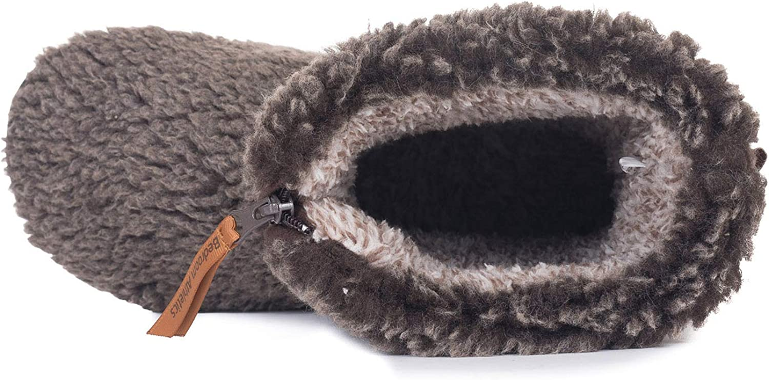 Bedroom Athletics Mens Gosling Snow Tipped Sherpa Slipper Boots