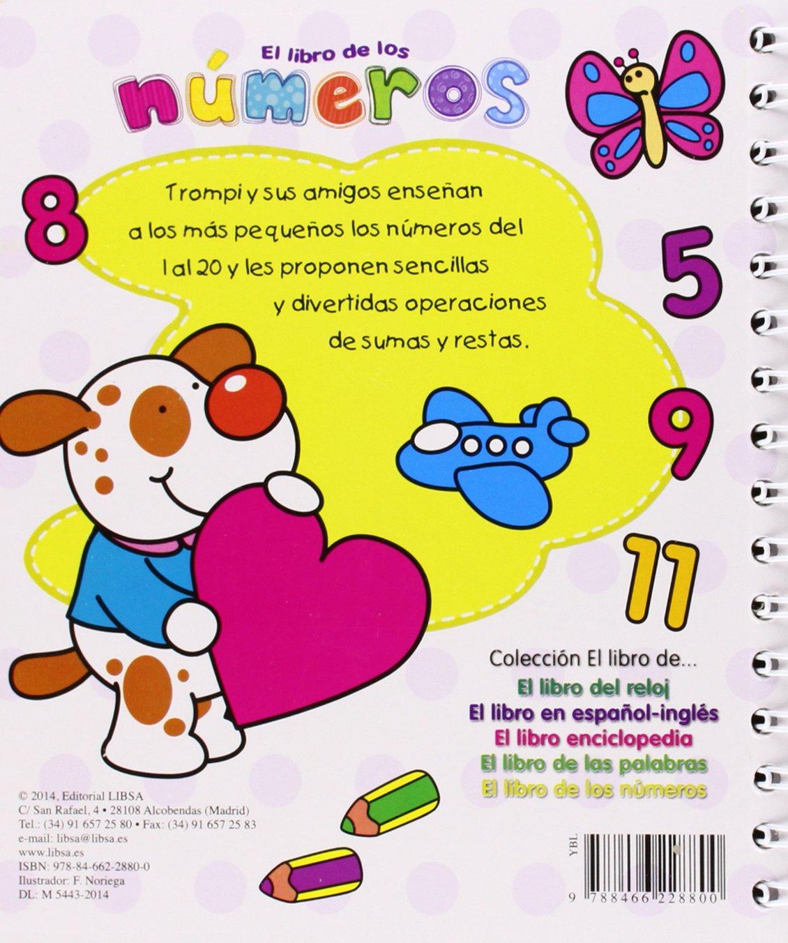 El Libro de los Números: Equipo Editorial: 9788466228800: Amazon.com: Books