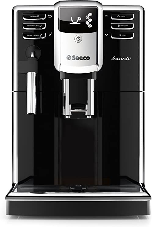 Saeco Incanto HD8911/47 - Cafetera (Independiente, Máquina espresso, 1,8 L, Molinillo integrado, 1850 W, Negro): Amazon.es: Hogar