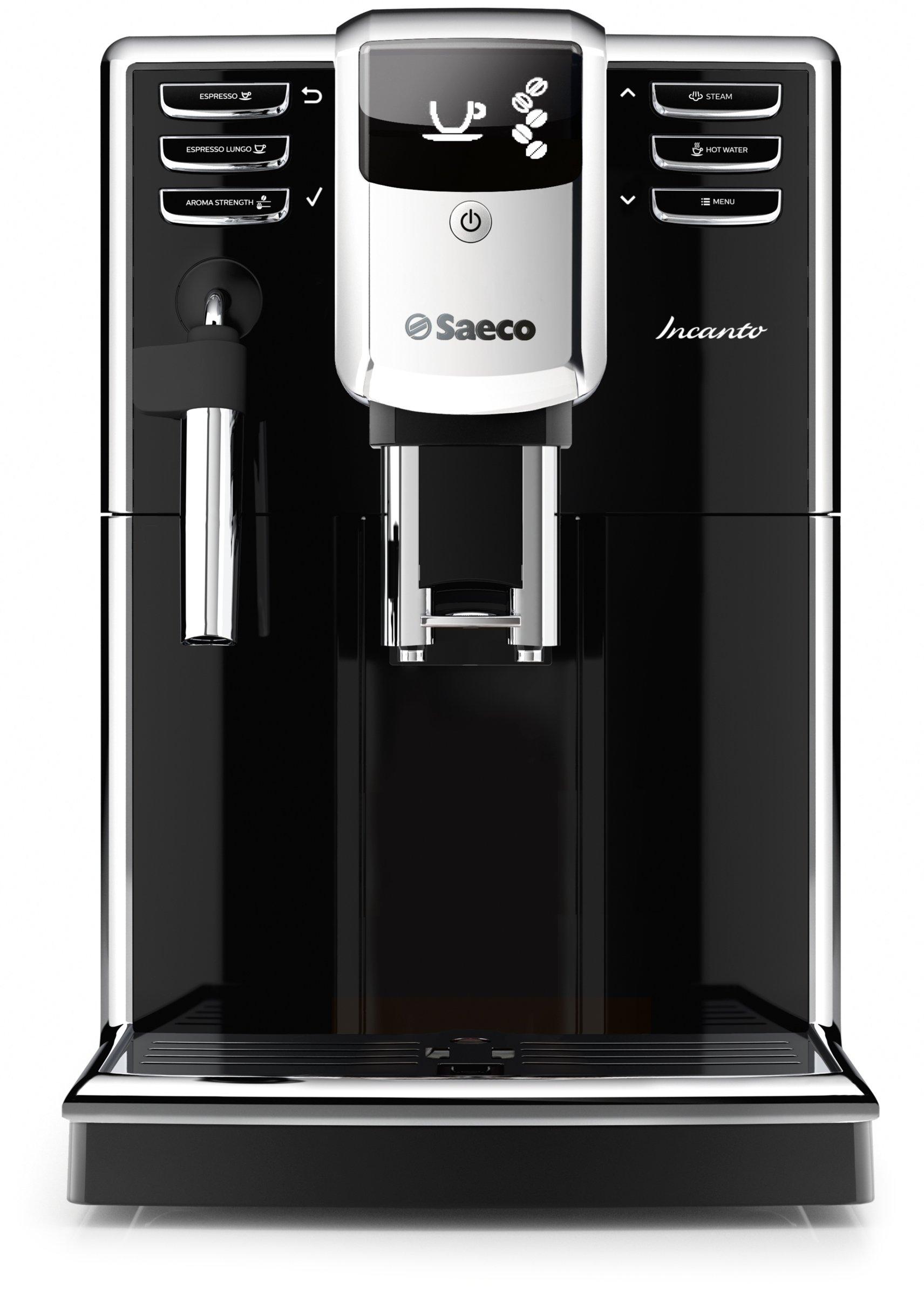 Saeco HD8911/47 Saeco Incanto Classic Milk Frother Super Automatic Espresso Machine, Black