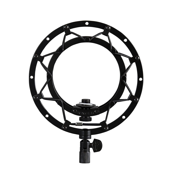 Blue Ringer Universal Shockmount for Ball Microphones (Blackout)