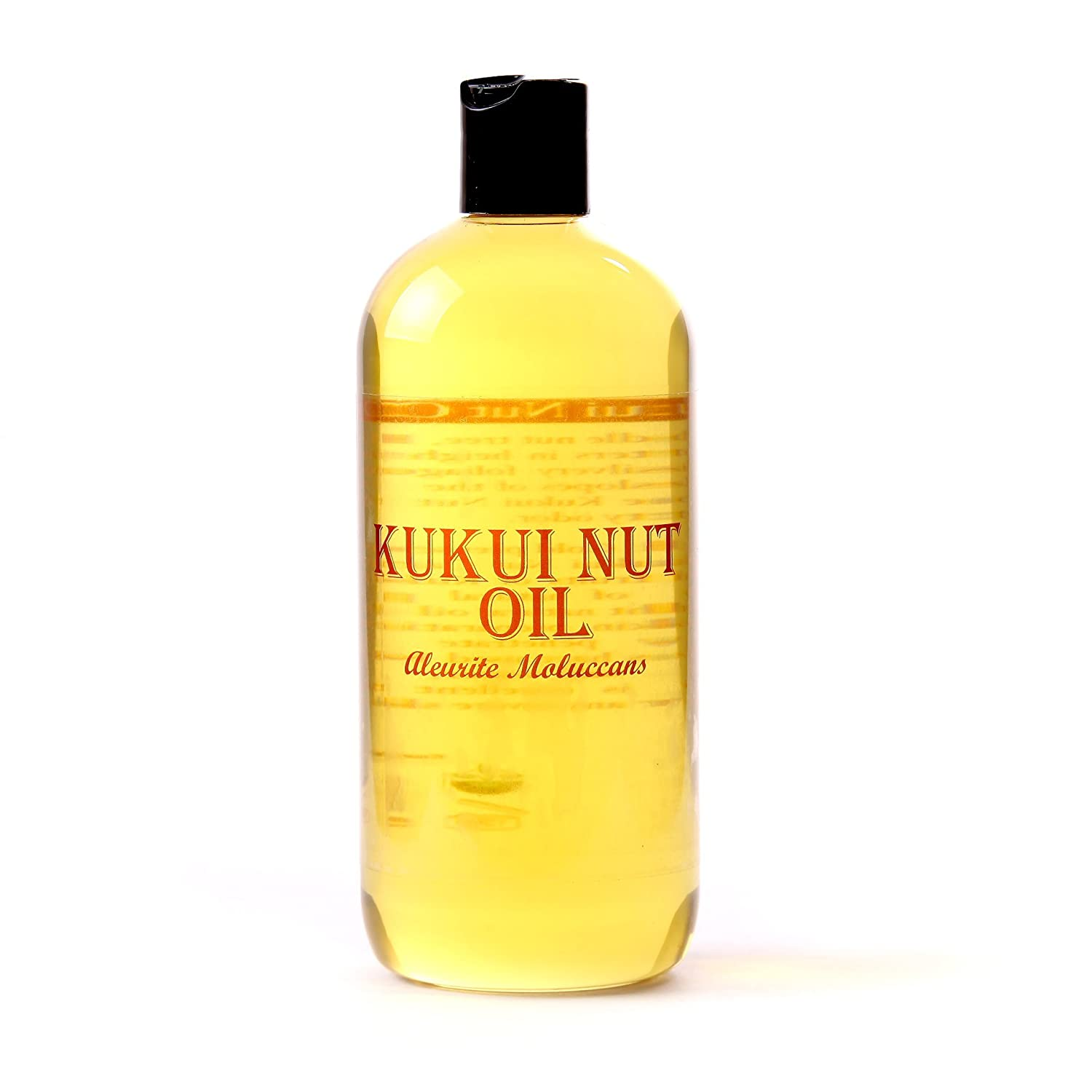 Kukui Nut Carrier Oil - 500Ml 100% Pure Mystic Moments OVKUKU500