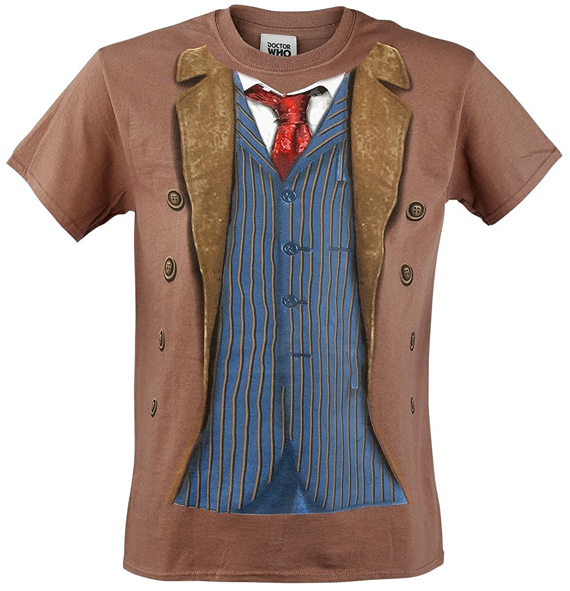 Doctor Who 10th Doctor Costume Mens T-Shirt