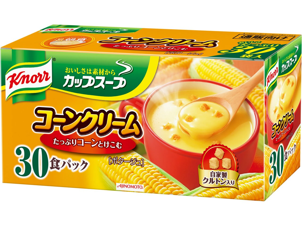 Knorr cup soup corn cream 30 packs