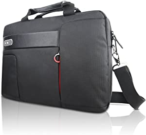 "Lenovo 15.6"" Topload Laptop Carry Case by NAVA - Black (GX40M52027),Classic Topload - Black"