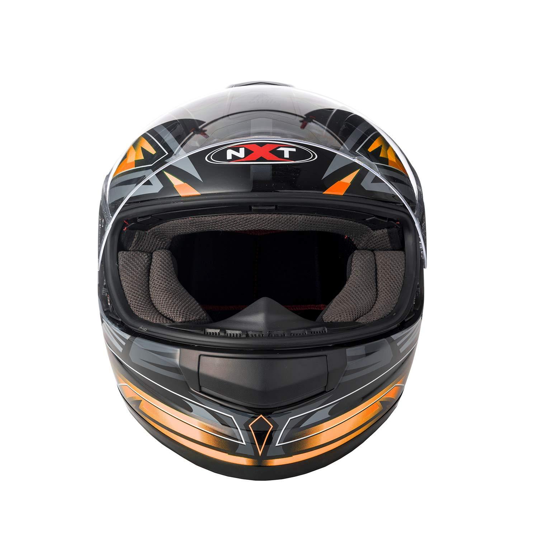 Size Large Full Face Sun Visor Front Motorbike Helmet Scooter Motorycle Bike Racing Helmet For Mens Womens Kids Boys