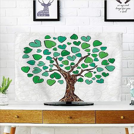 Protege tu televisor Ornatetree con raíces Curvas y Ramas de ...