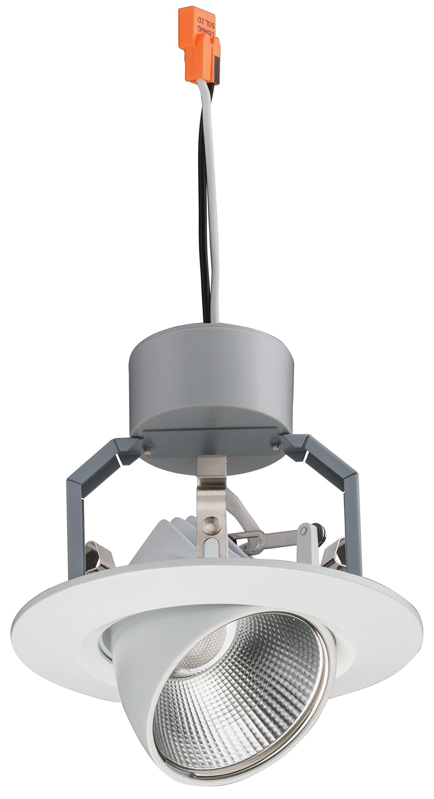 Lithonia Lighting 4IGMW LED 30K 90CRI M6 640 lm 3000K LED iGimbal Module, 4'', Matte White