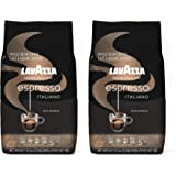 Lavazza Caffe Espresso Italiano Whole Bean Coffee Blend, Medium Roast, 2.2-Pound Bag (Pack of 2)