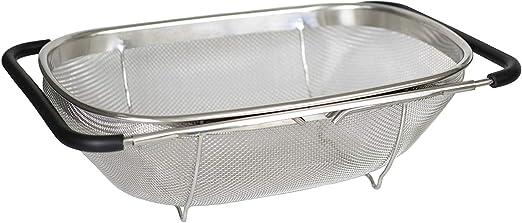 Amazon.com: Artigee - Colador para fregadero con asas de ...