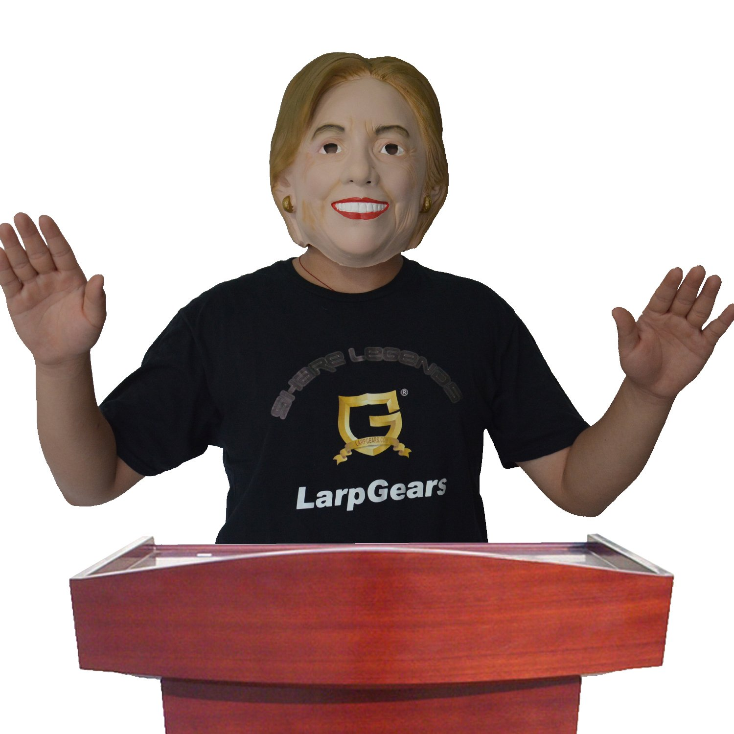 Amazon.com: Hillary Clinton Mask Presidential Candidate Full Head ...