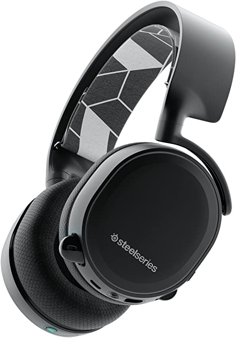 SteelSeries Arctis Bluetooth (Edición Legado) - Auriculares para juego, inalámbrico, PC, Mac, PlayStation 4, Nintendo Switch, Móvil, VR, color Negro: Amazon.es: Informática