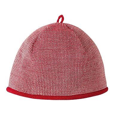 Disana Baby Melange-Mütze 355 aus Bio Schurwolle kbT, Rot Gr. 01 (42 ... a6f42f47b5