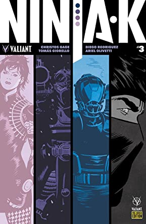 NINJA-K #3 CVR E Pre-Order Edition at Amazons Entertainment ...