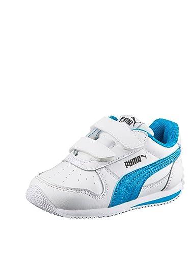Garçon Baskets Puma Blanc Mode Biancoceleste Pour xt0q80Rw