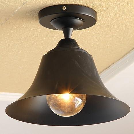 Las luces de techo exterior en forma de campana Vintage ...