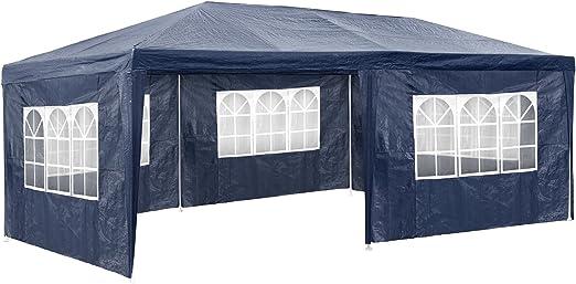 TecTake Carpa pabellón Tiendas de para Eventos y Fiestas Jardin 3x6 m (Azul | No. 402302): Amazon.es: Jardín