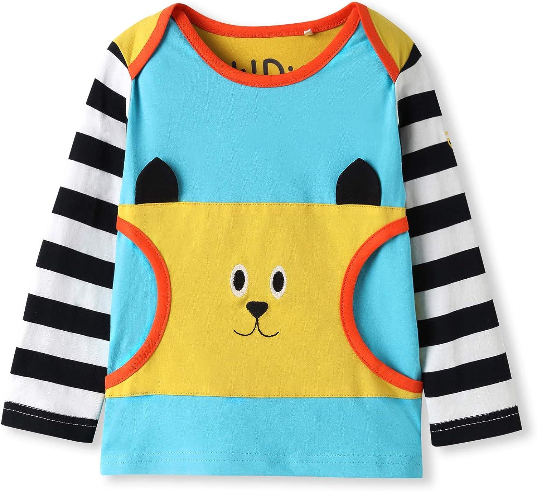 Unisex Infant Fashion Tee The Cat Simple T-Shirt 6M-24M