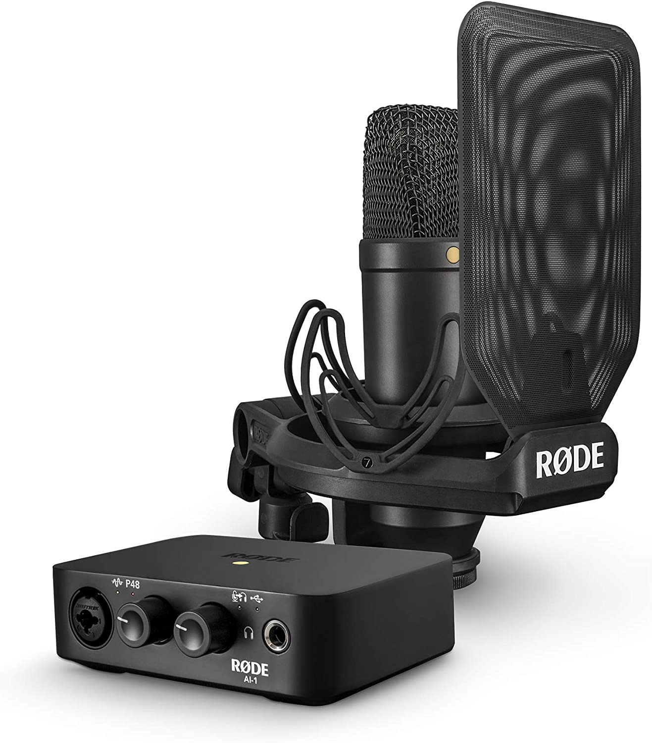 Rode Aint1 kit - Pack interface y micrófono