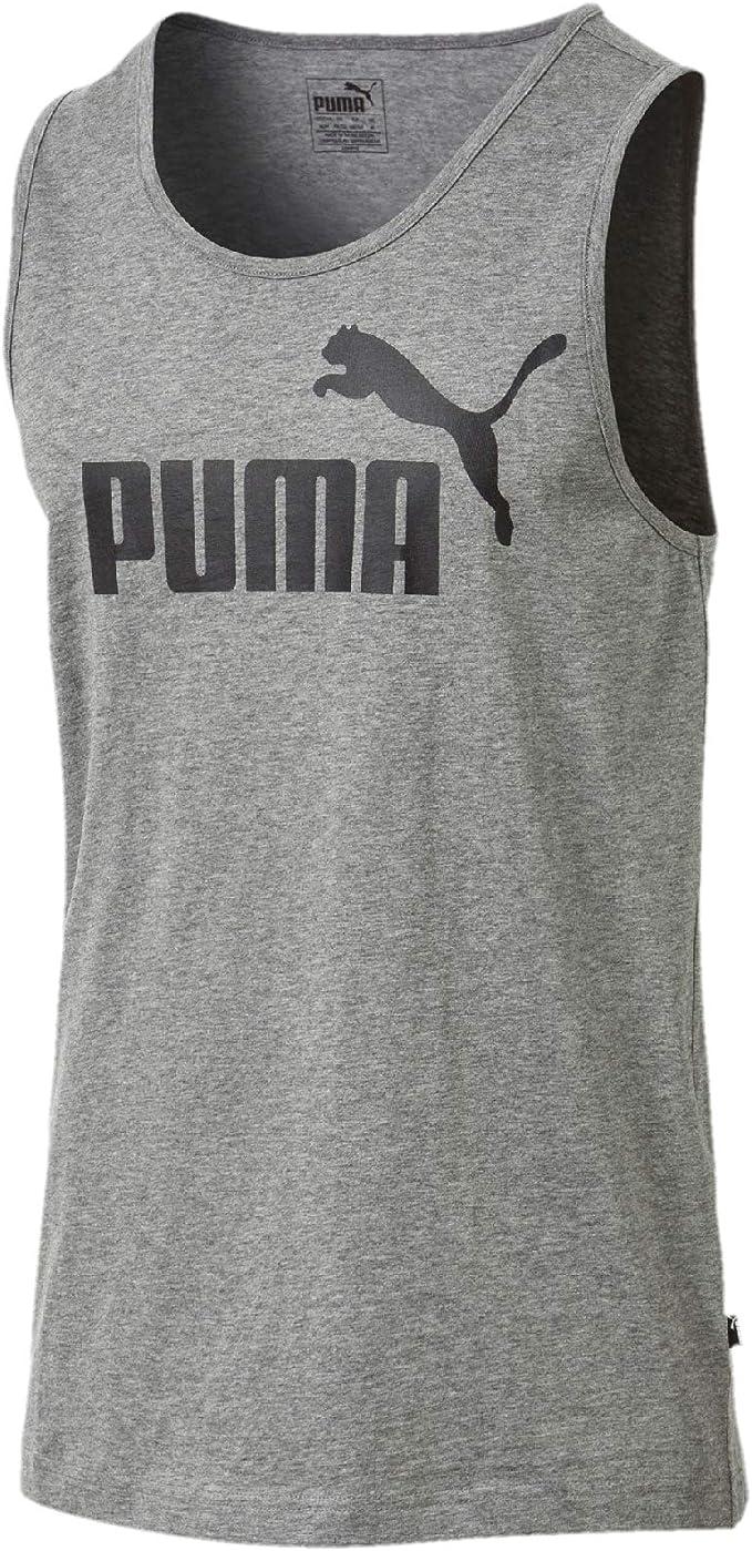 PUMA Essentials Tank Camiseta de Tirantes, Hombre: Amazon.es: Ropa y accesorios