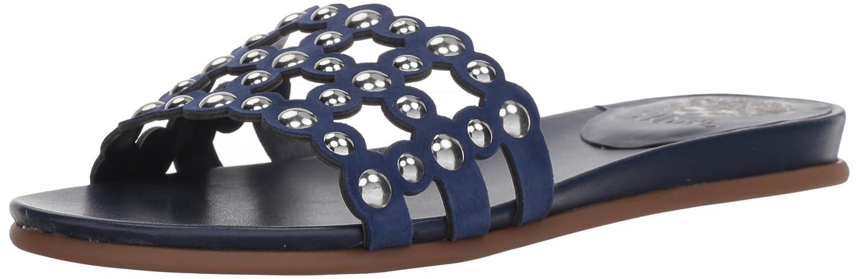 Vince Camuto Women's Ellanna Slide Sandal B075FGQ7TL 5 B(M) US|Moody Blues