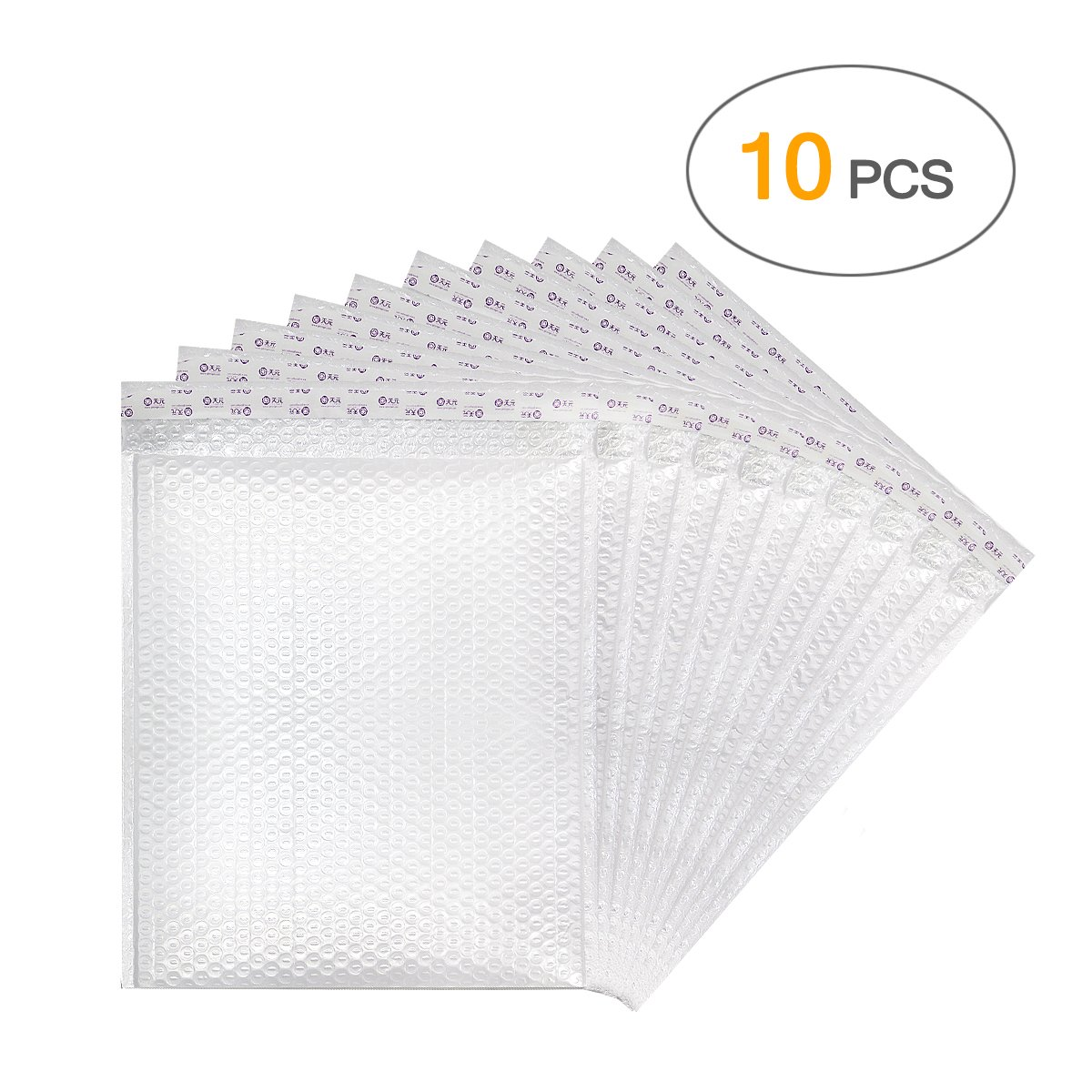 Poly Bubble Mailers Padded Envelopes Bubble Lined Shipping Envelope Mailing Bags with Self Adhesive Strip 10 Pcs(17 x 14'' /440 x 350mm)