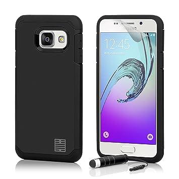32nd Funda Armadura Rigida Slim Armour con Doble Carcasa para Samsung Galaxy A5 (2016) SM-A510 - Negro
