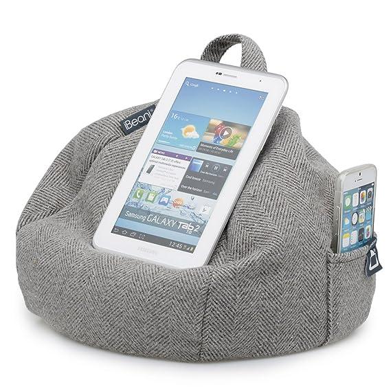 iBeani - Cojín para Tablet Herringbone Grey