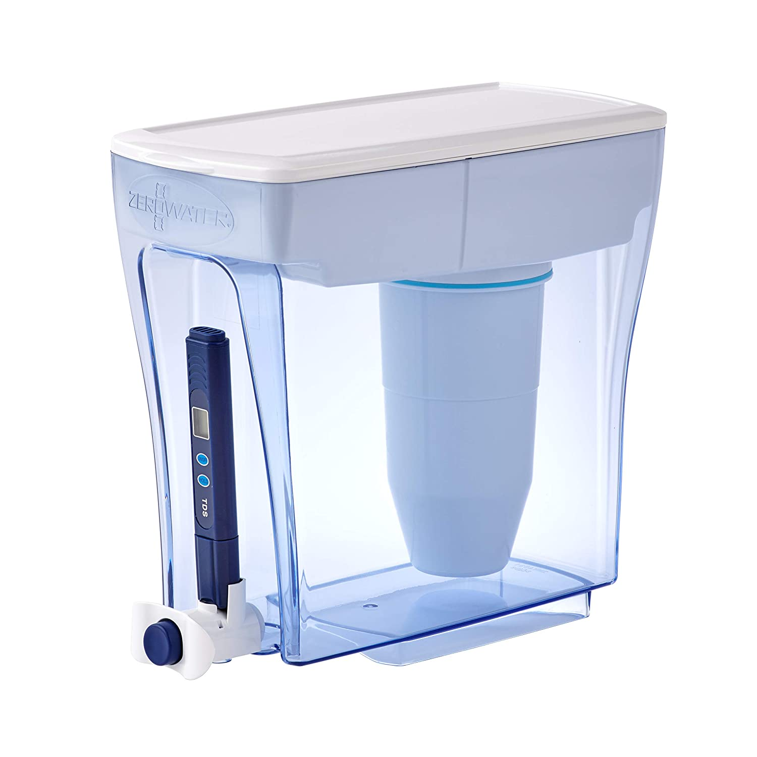 ZeroWater 20 Cup Ready-Pour Dispenser Raleigh Some reservation Mall Water Filter clea Pitcher