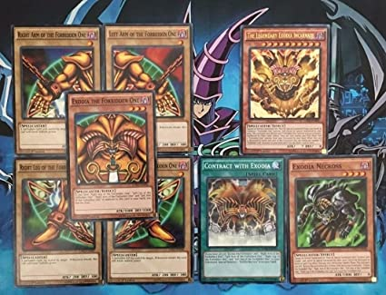 Amazon.com: parte superior satisfecho Exodia Forbidden One 8 ...