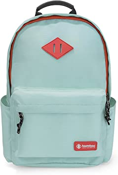 Womens Candy Color Large Backpack Travel School  Rucksack with USB Charging Port