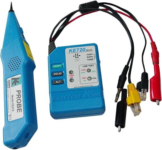 Kurth Ke701 Telco Leitungssucher Kit Besteht Aus Computer Zubehör