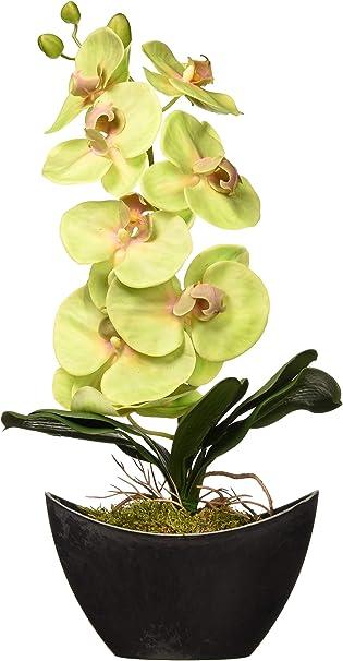 Second Flower  17mm x 18mm  BMG131-P 4pcs Orchid Flower Leaf Pendant