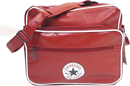 Converse Tasche Vintage patch PU Shoulder bag retro red