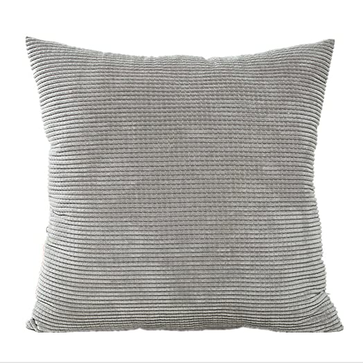 Hangood Throw Pillow Case Cushion Covers Polyester Solid Color