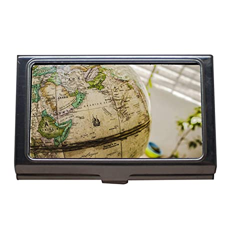Porte Cartes De Visite Mapp Gas Carte Impermeable Pour Chien Etui En Acier Inoxydable Amazonfr Fournitures Bureau