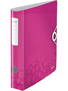 4 D-Ring A4 LEITZ Ringbuch Active WOW SoftClick pink
