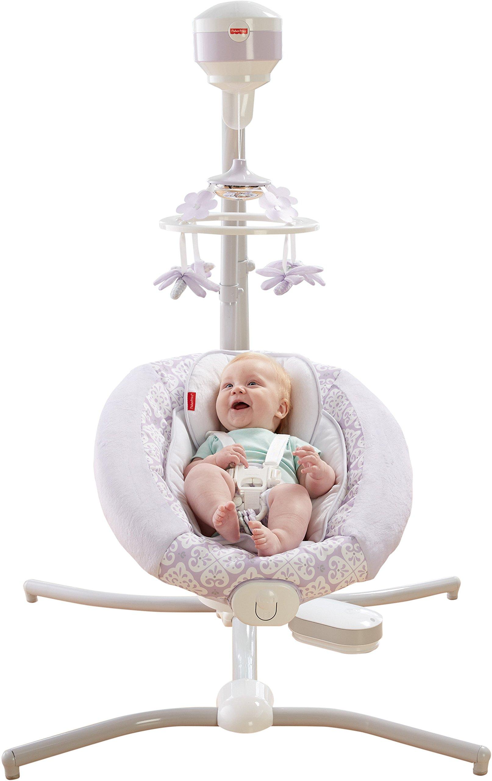 Amazon.com : Fisher-Price Fairytale Deluxe Bouncer : Baby