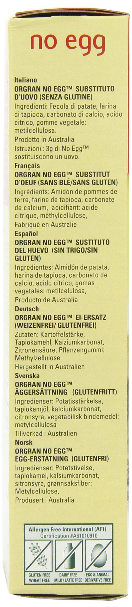Orgran Egg Replacement, 7 Ounce by Orgran (Image #6)