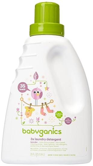 Amazon.com: Babyganics Baby detergente de lavandería ...