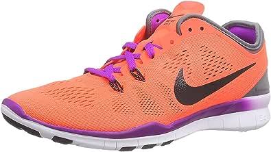 Nike Wmns Free 5.0 TR Fit 5, Zapatillas de Running para Mujer, Multicolor (Red/Black), 36.5 EU: Amazon.es: Zapatos y complementos