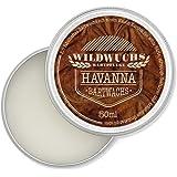 Wildwuchs Bartpflege - Bartwachs HAVANNA - Moustache Wax - Beard Balm für Bart-Styling - 1x 50 ml