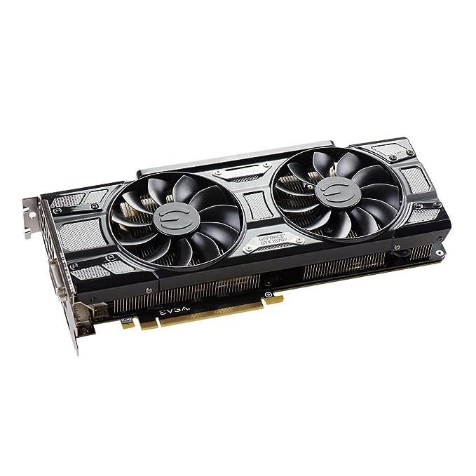 EVGA GeForce GTX 1070 Ti SC GAMING ACX 3.0 Black Edition, 8GB GDDR5, EVGA OCX Scanner OC, White LED, DX12OSD Support (PXOC) Graphics Card ...