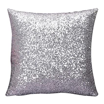 Amazon Bling Pillow Bling Pillows Decorative Glitter Sequins Stunning Bling Decorative Pillows