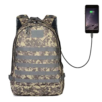 6c5cdbad97 GinCuky PUBG Level 3 Bag Unknown's Battlegrounds Winner Winner Chicken  Dinner Tactical Military Backpack Waterproof Sport