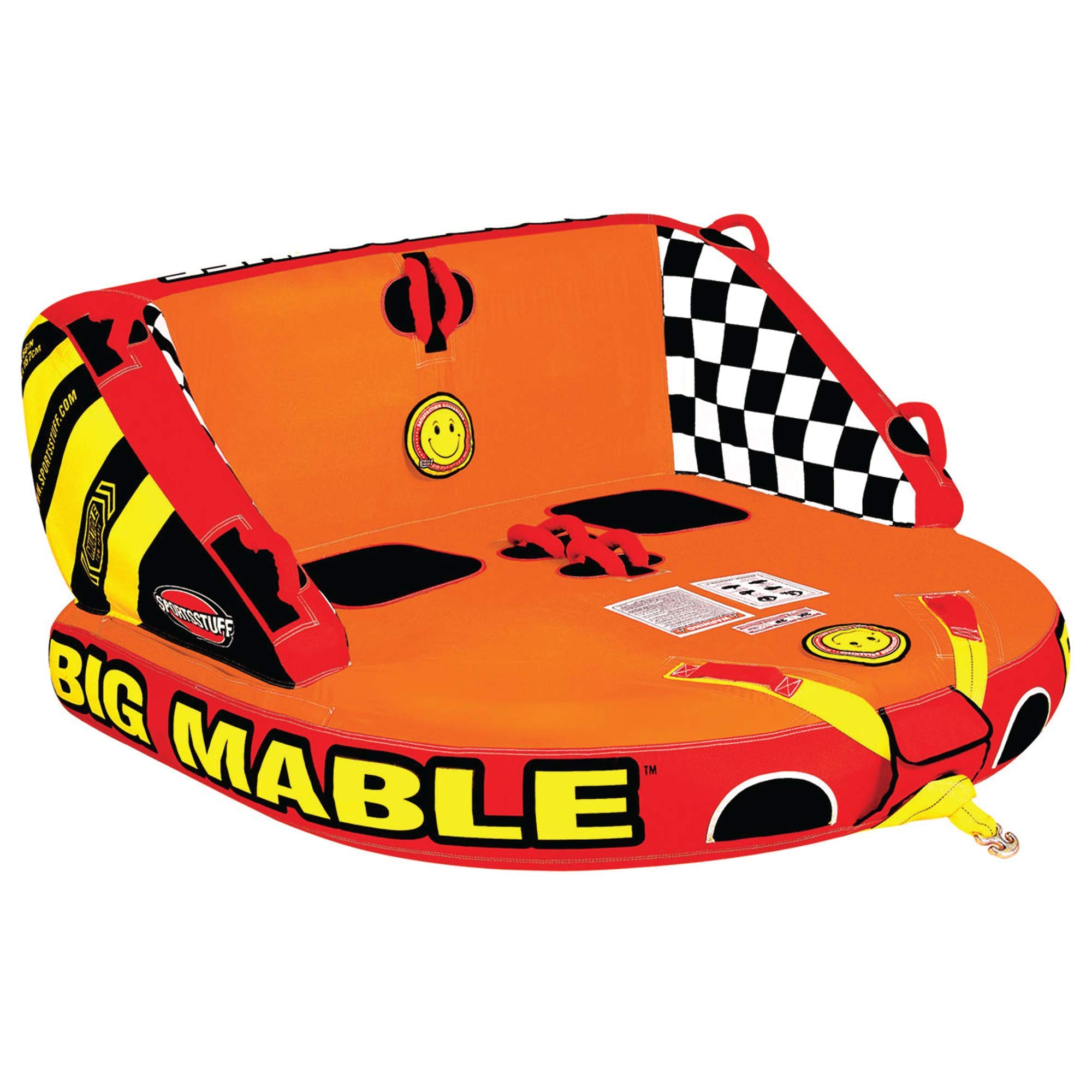 Sportsstuff Big Mable  1-2 Rider Towable Tube for Boating by SportsStuff