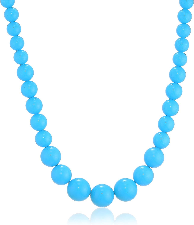 3331480 Party Pro- Collier de Perles Unisex-Adult Bleu Taille Unique