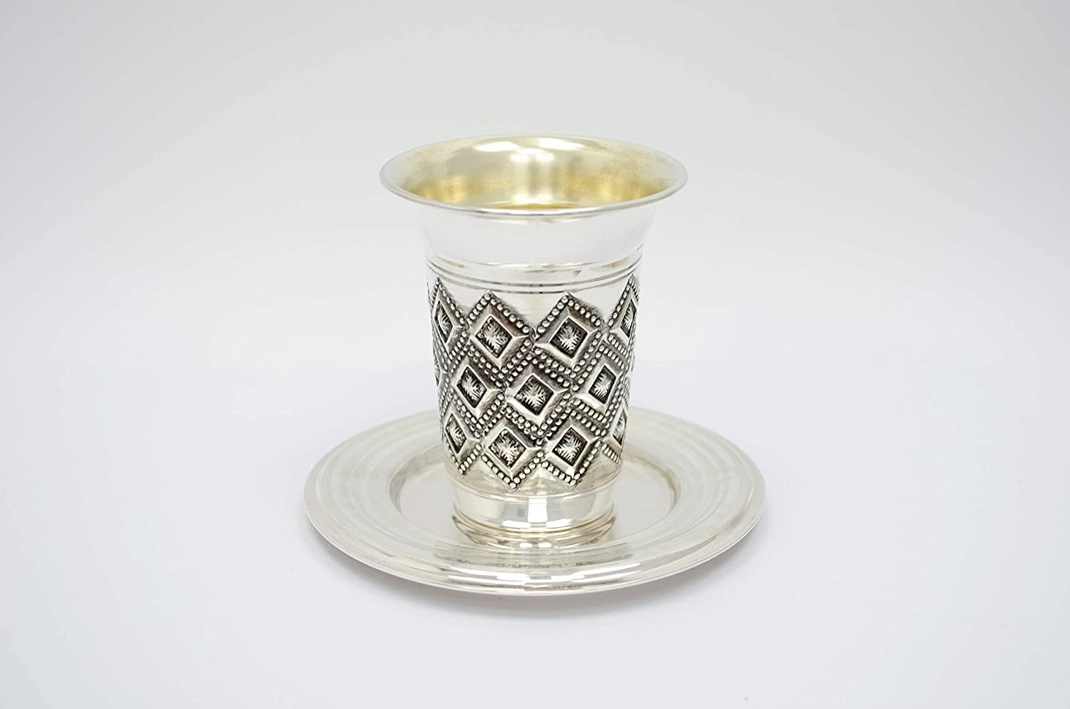 Image result for Sterling Silver Kiddush Cups for A Special Shabbat