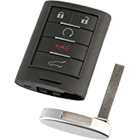 Car Key Fob Keyless Entry Remote fits Cadillac SRX 2010 2011 2012 2013 2014 2015 (NBG009768T)
